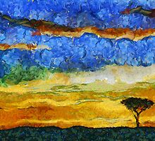 Kenyan Sunrise by Marsea