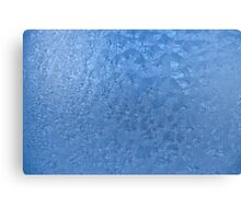 Frozen glass Canvas Print