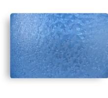Frozen glass Canvas Print