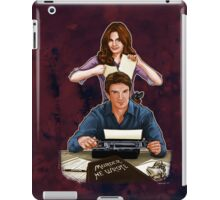 Murder He Wrote iPad Case/Skin
