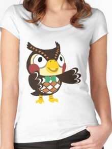 Blathers - Animal Crossing Women's Fitted Scoop T-Shirt