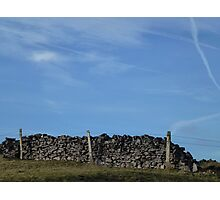 Dry Stone Wall - Middleton Moor #4 Photographic Print