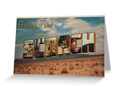 Scorch Trials Postcard  Greeting Card