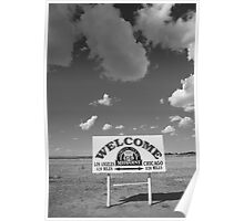Route 66 - Midpoint Sign Poster