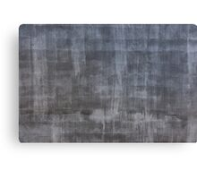 Gray plaster wall Canvas Print