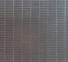 Gray vertical tiles by Kristian Tuhkanen