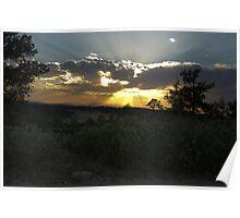 Quite Sunset Poster