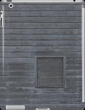 Horizontal blank plank wall by Kristian Tuhkanen
