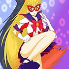 Sailor V Kick! by Skwerl1016