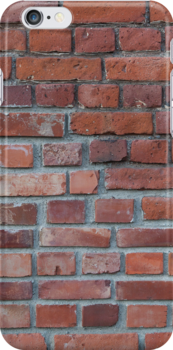 Old red brick wall by Kristian Tuhkanen