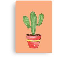 Cactus Mexi - Can Canvas Print