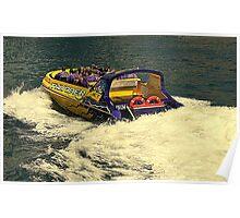 Thunder Jet Boat Poster