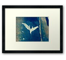 Batman Is A Symbol Framed Print