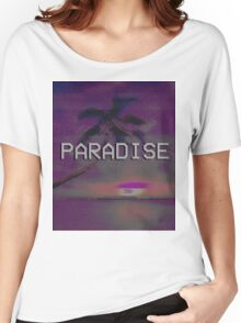 Paradise (AESTHETIC) Women's Relaxed Fit T-Shirt