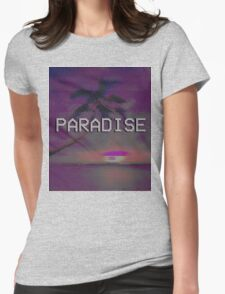 Paradise (AESTHETIC) Womens Fitted T-Shirt