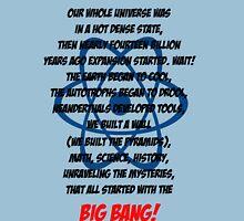 The Big Bang Theory Theme song - Black version Unisex T-Shirt