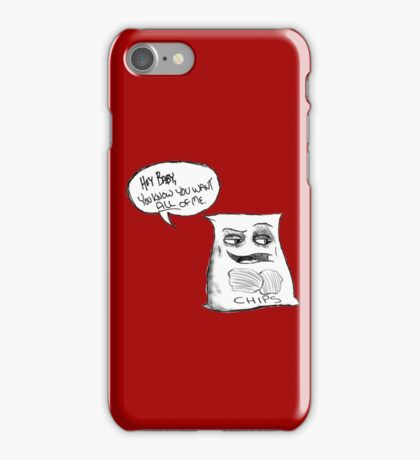 Walter The Seductive Bag of Potato Chips iPhone Case/Skin