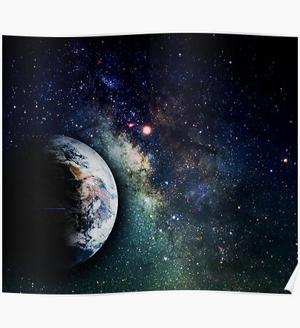 Space milkyway Poster