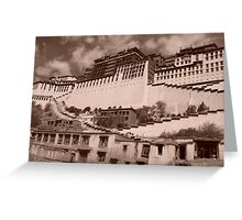 Potala Palace, Lhasa Greeting Card