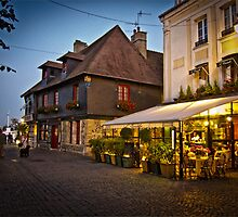 Honfleur at Night by Sue Martin