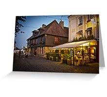Honfleur at Night Greeting Card