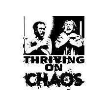 Thriving on chaos Photographic Print