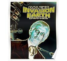 Daleks Invasion Earth Poster