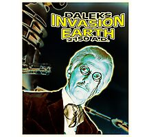Daleks Invasion Earth Photographic Print