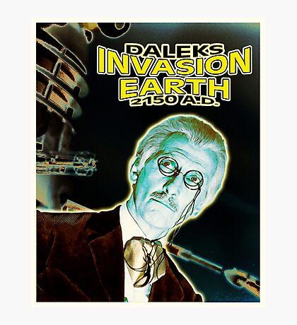 Daleks Invasion Earth Photographic Print