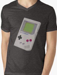Gameboy Shirt For Geek Mens V-Neck T-Shirt
