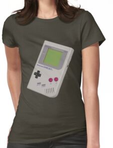 Gameboy Shirt For Geek Womens Fitted T-Shirt