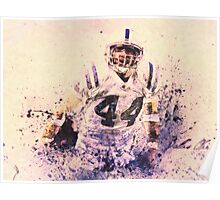 sports   Dallas Clark  NFL  Indianapolis Colts Poster