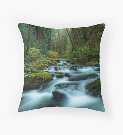 My Secret Paradise - Pure Nature Throw Pillow