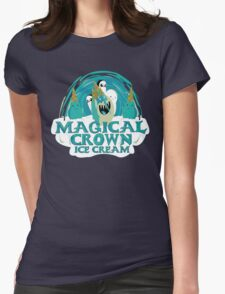 magical crown ice cream Womens Fitted T-Shirt