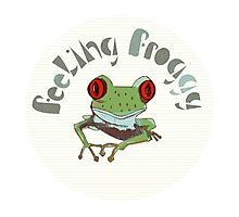 Feeling Froggy Photographic Print