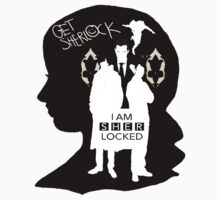 Sherlock Fangirl (B&W) by annab3rl1n