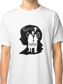 Sherlock Fangirl (B&W) Classic T-Shirt