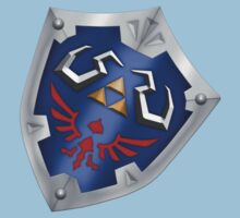 A Legend of Zelda (Right-shoulder Back) Shield Design  Kids Clothes