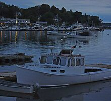 Boothbay Harbor: After Dark by Jack Ryan
