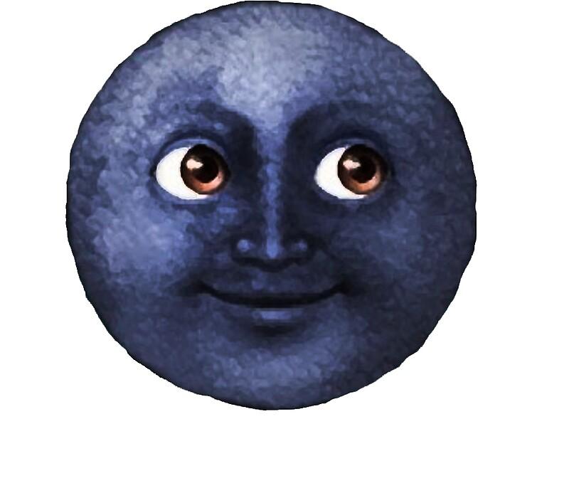 Rape Moon Emoji Stickers Redbubble