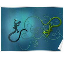 gecko duality Poster