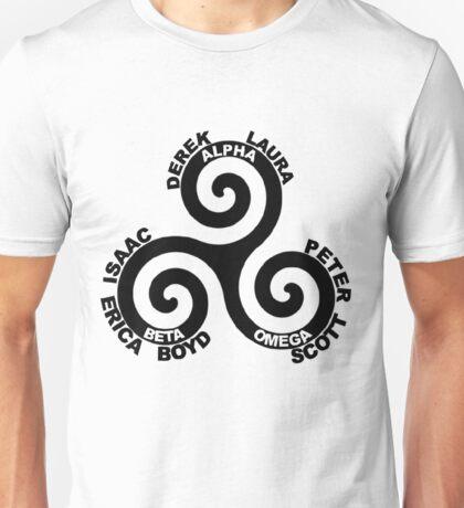 Alpha, Beta, Omega Unisex T-Shirt