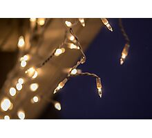 Faux Icicles Photographic Print