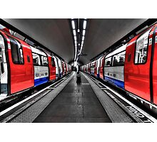 Two Trains Photographic Print