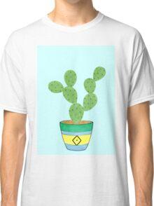 Call Me Cactus - Blue Classic T-Shirt