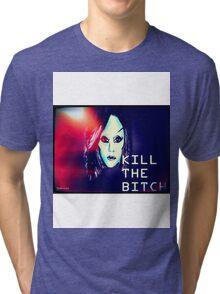 Lady Gaga's birth of a new race Tri-blend T-Shirt