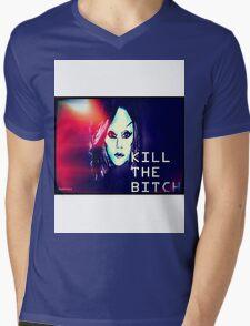 Lady Gaga's birth of a new race Mens V-Neck T-Shirt