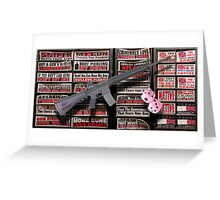 01.19.13 Gun Appreciation Day Greeting Card