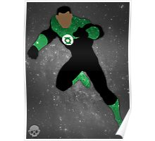 Green Lantern (John Stewart) Galaxy Poster