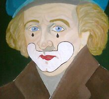 PORTRAIT OF A CLOWN by spanglish